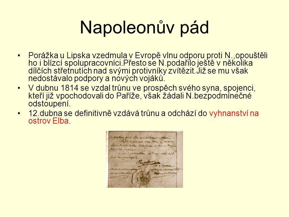 Napoleonův pád