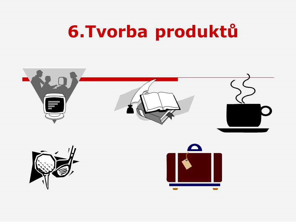 6.Tvorba produktů