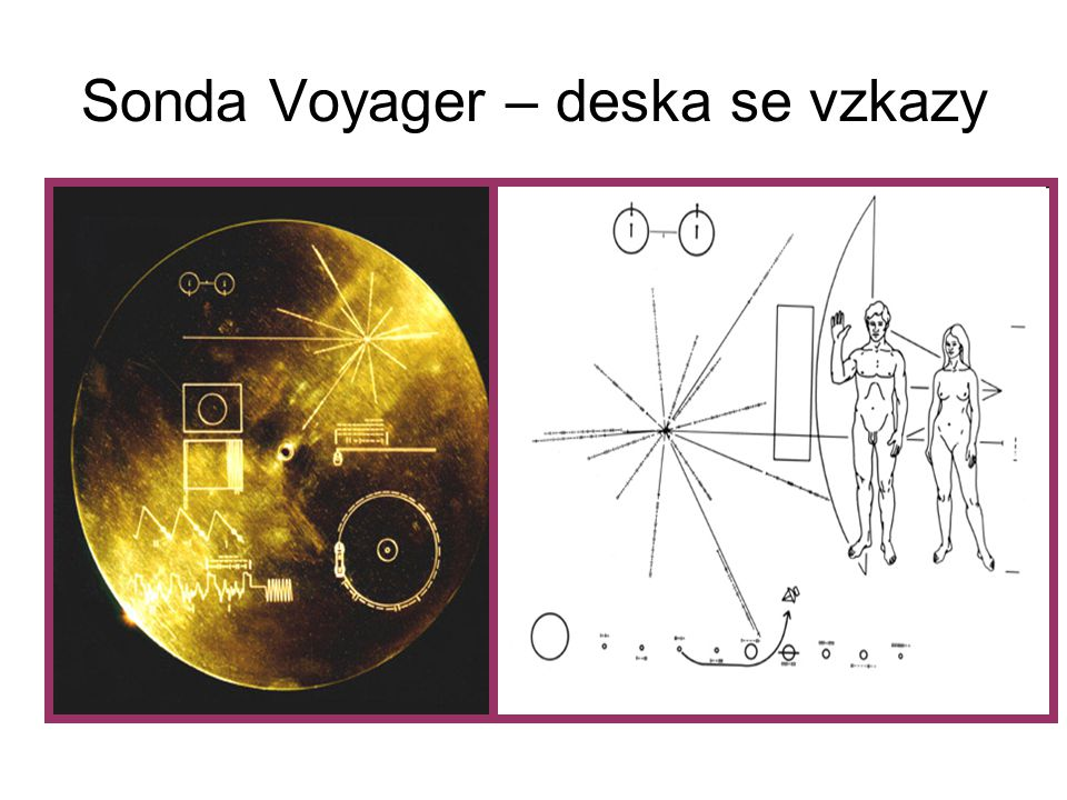 Sonda Voyager – deska se vzkazy