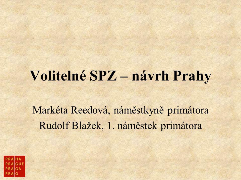 Volitelné SPZ – návrh Prahy