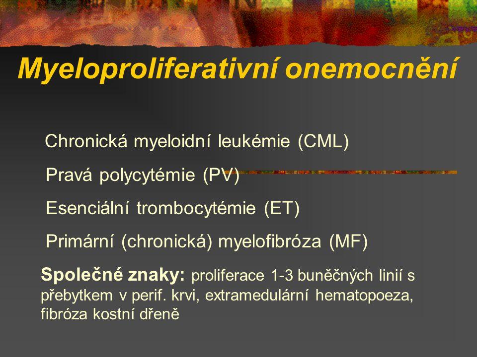 Myeloproliferativní onemocnění
