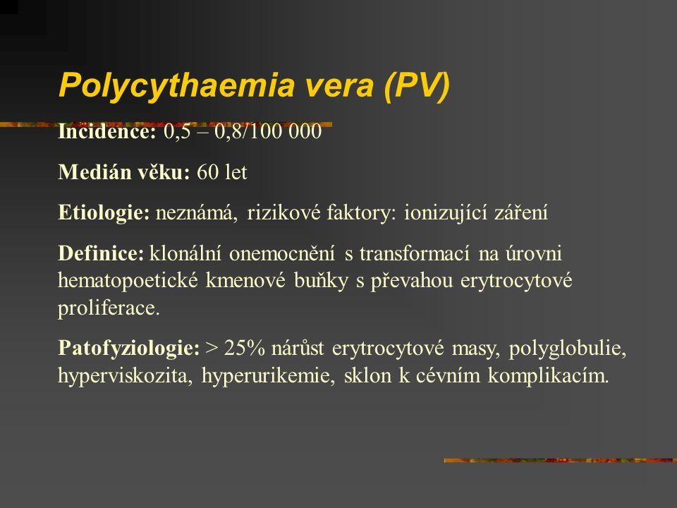 Polycythaemia vera (PV)