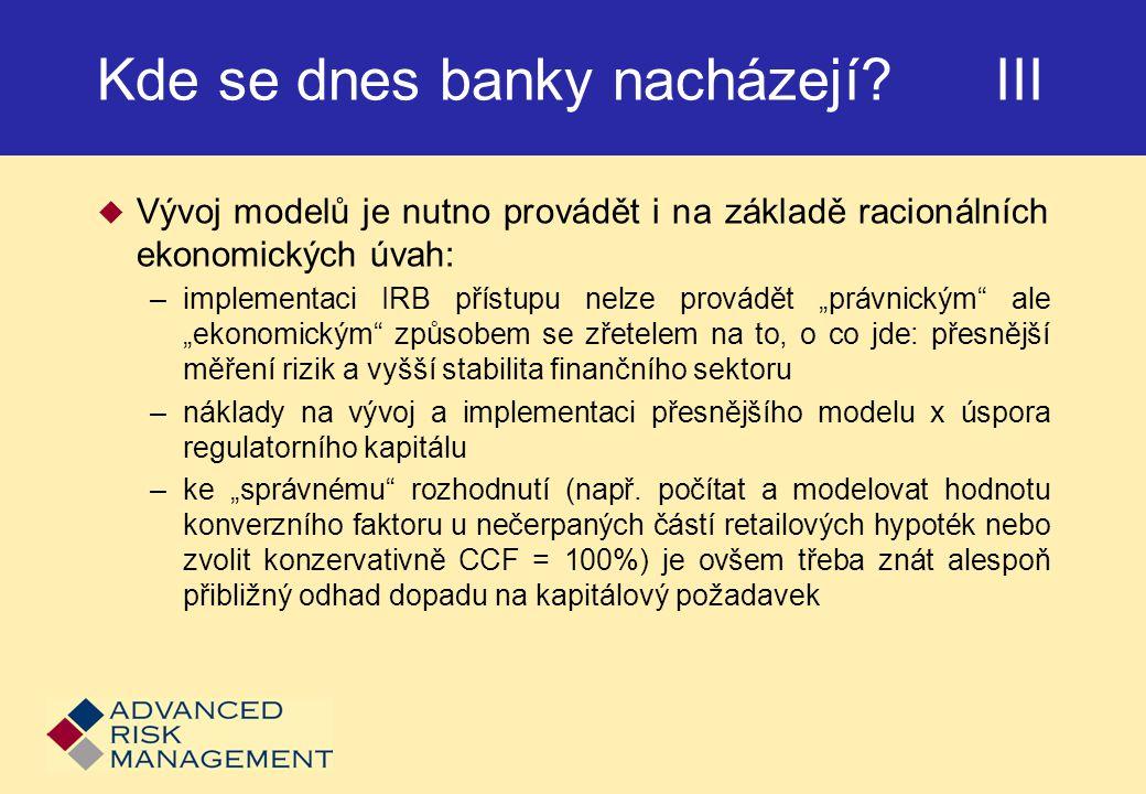 Kde se dnes banky nacházejí III