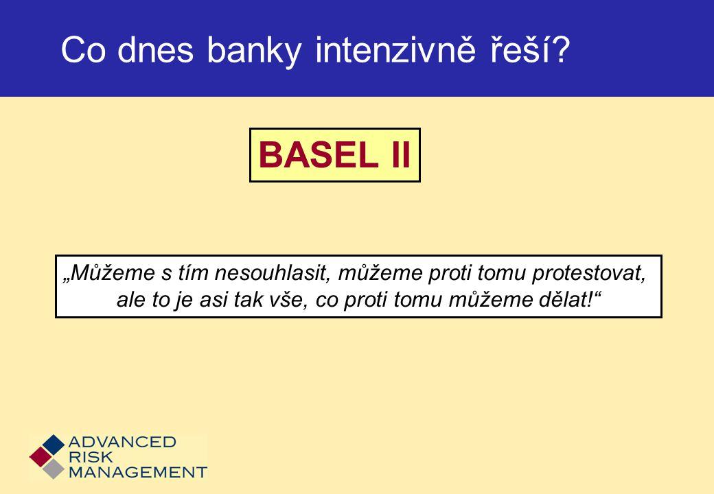 Co dnes banky intenzivně řeší