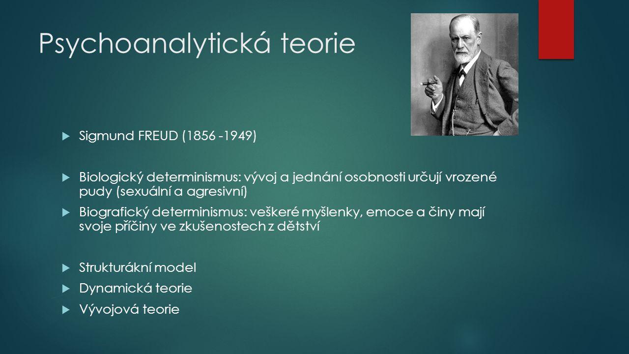 Psychoanalytická teorie