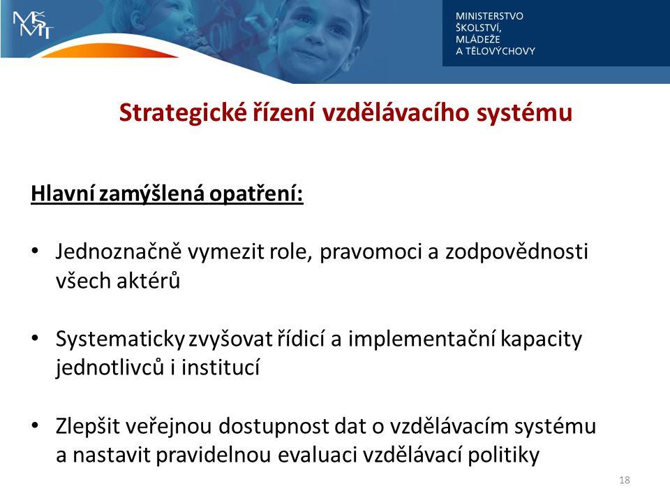 Strategické řízení vzdělávacího systému
