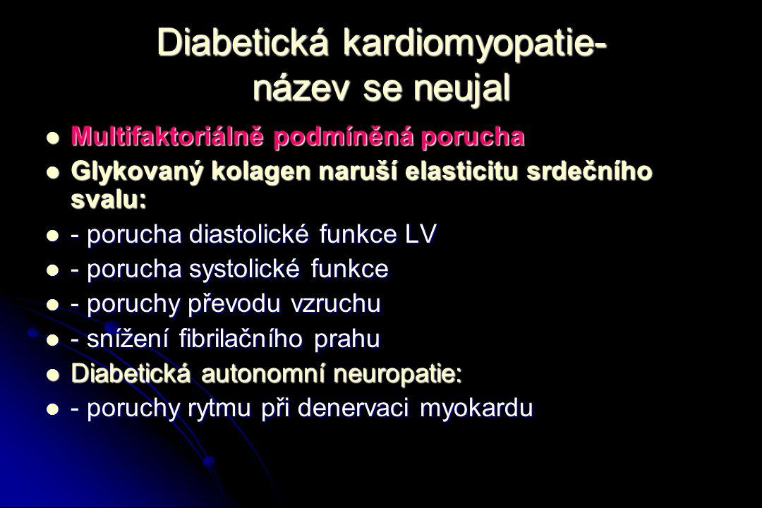 Diabetická kardiomyopatie- název se neujal