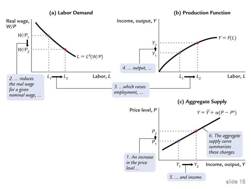 Model nepružných mezd Implikuje, že reálná mzda by měla být proticyklická, měla by se pohybovat proti vývoji produktu během hospodářského cyklu.