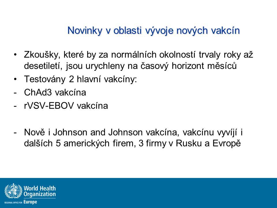 Novinky v oblasti vývoje nových vakcín