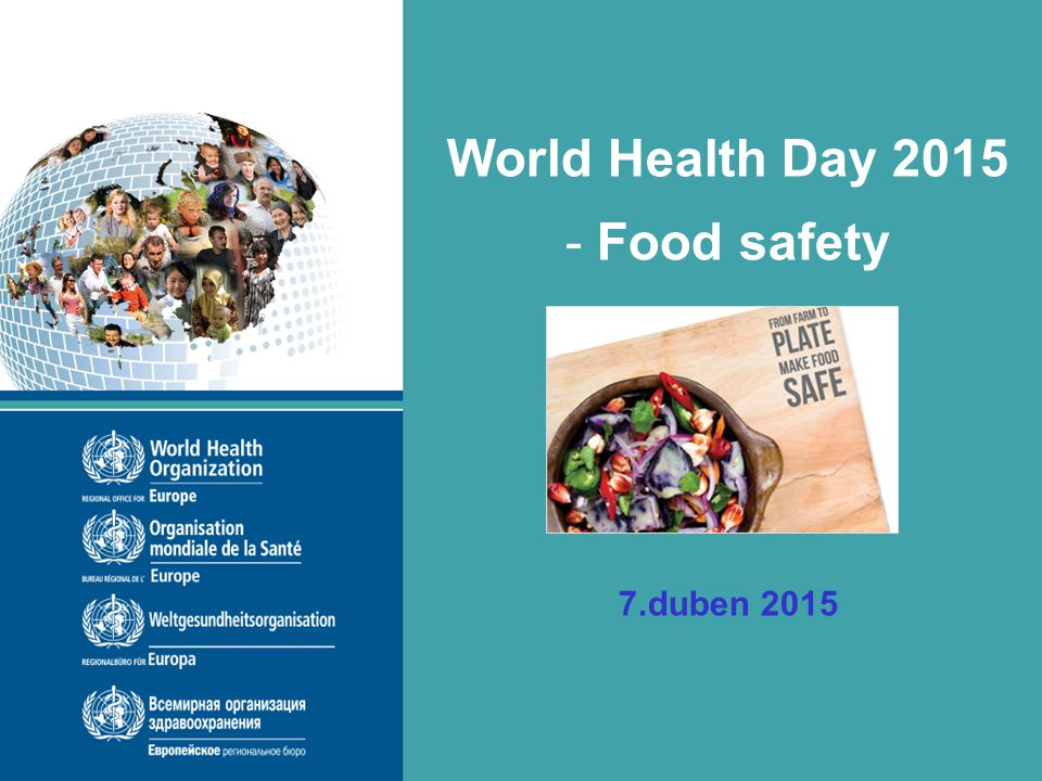 World Health Day 2015 Food safety
