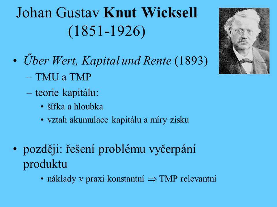 Johan Gustav Knut Wicksell (1851-1926)