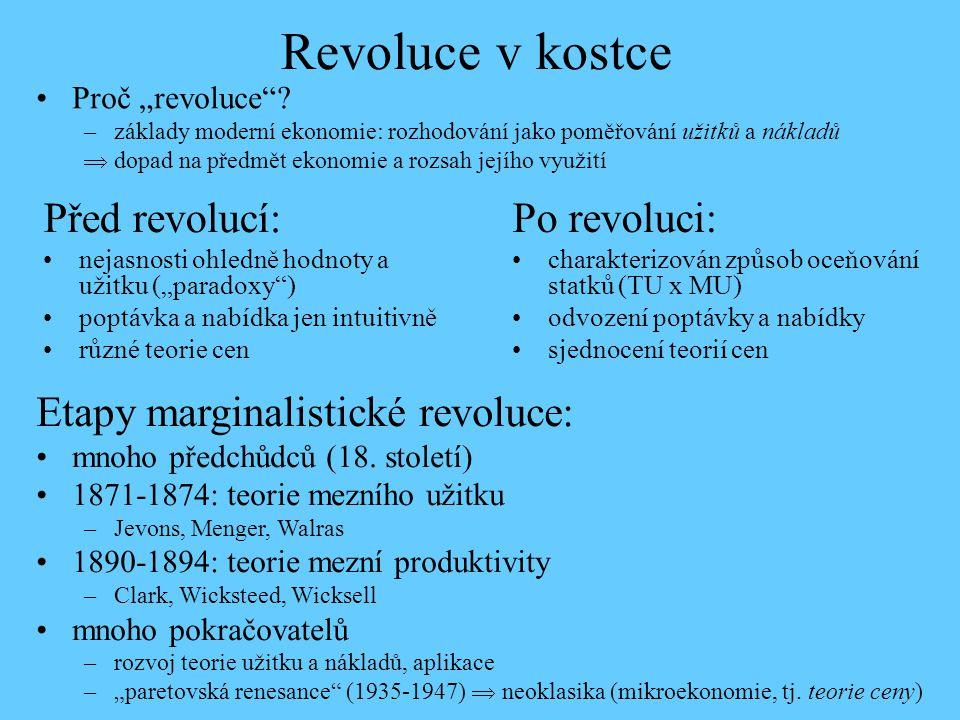 Revoluce v kostce Před revolucí: Po revoluci: