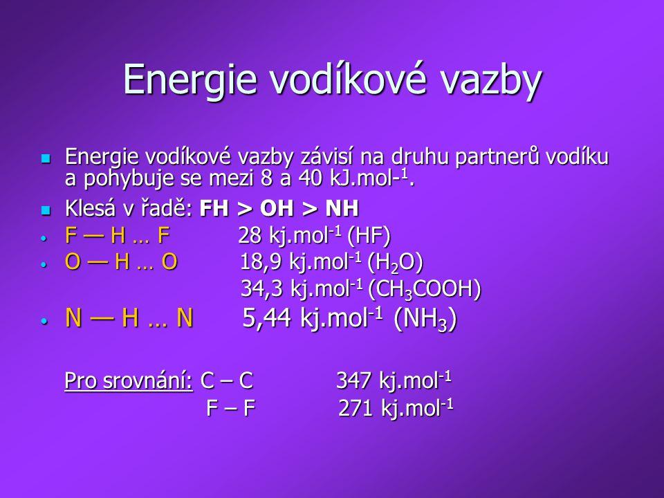 Energie vodíkové vazby