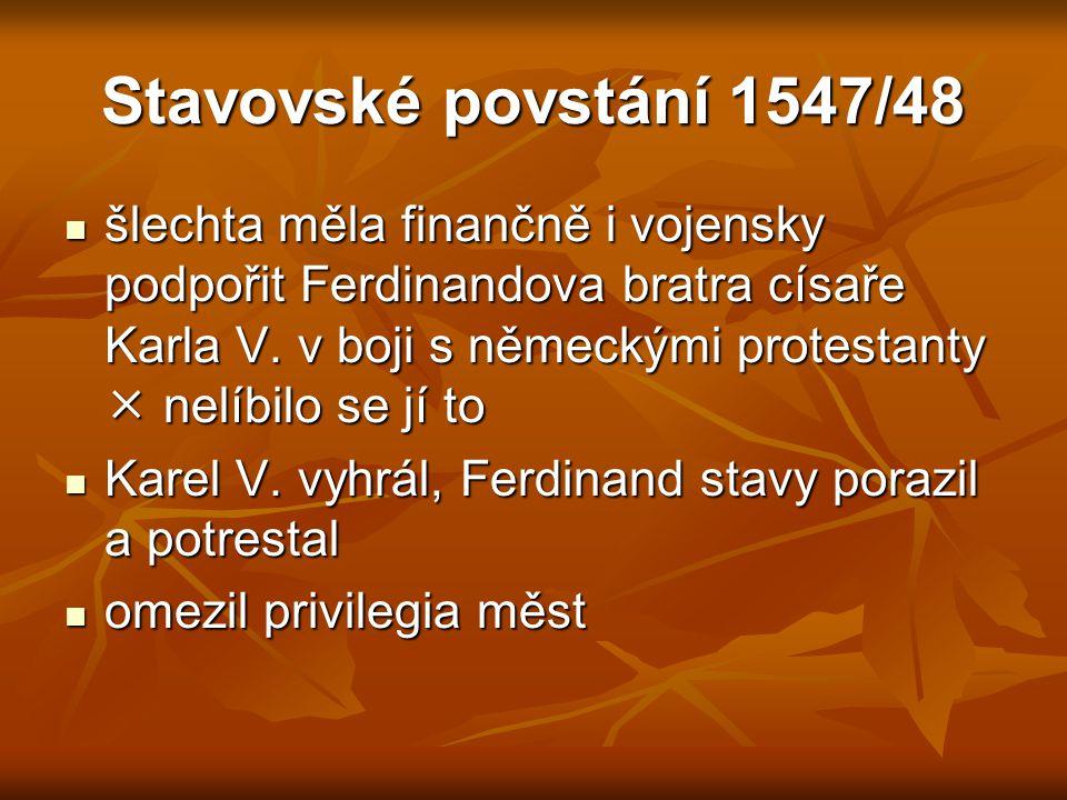 Stavovské povstání 1547/48