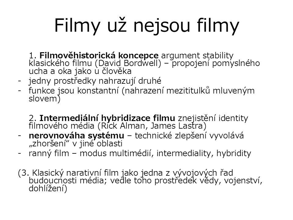 Filmy už nejsou filmy