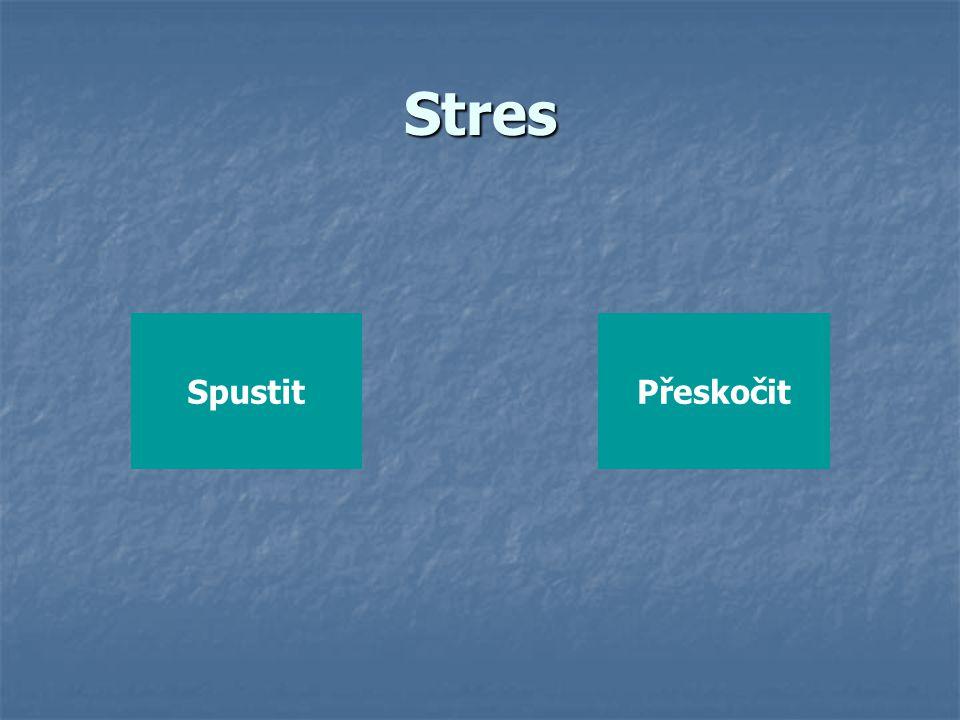 Stres Spustit Přeskočit