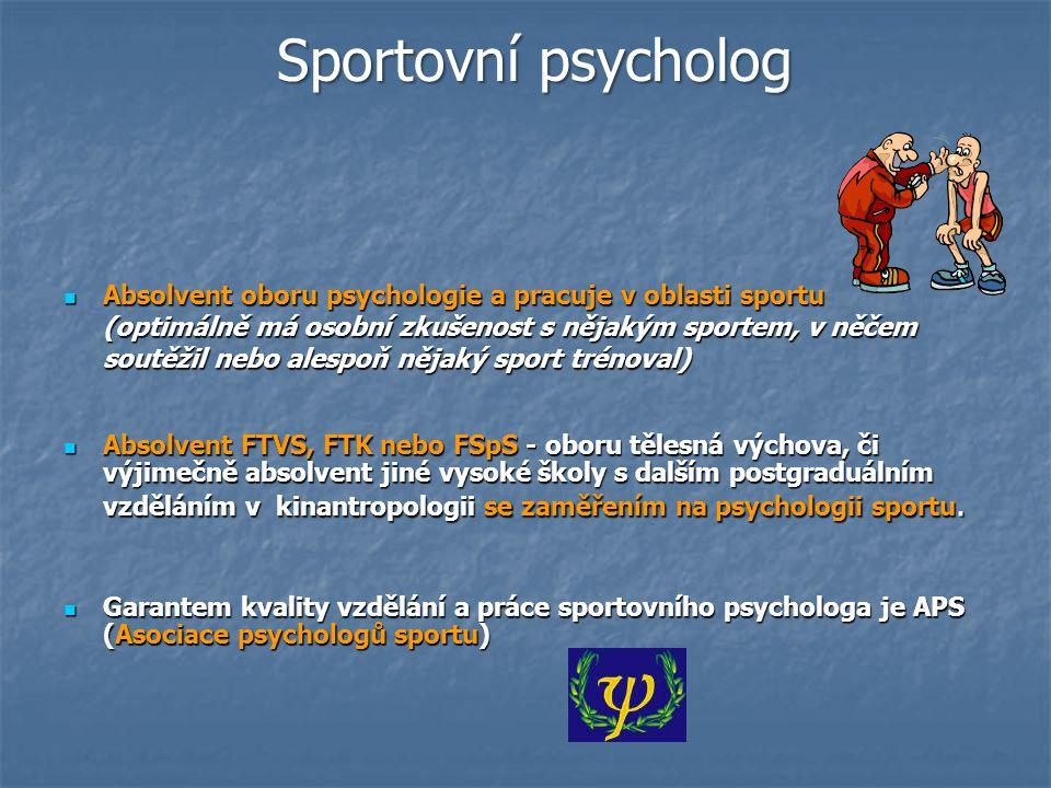 Sportovní psycholog
