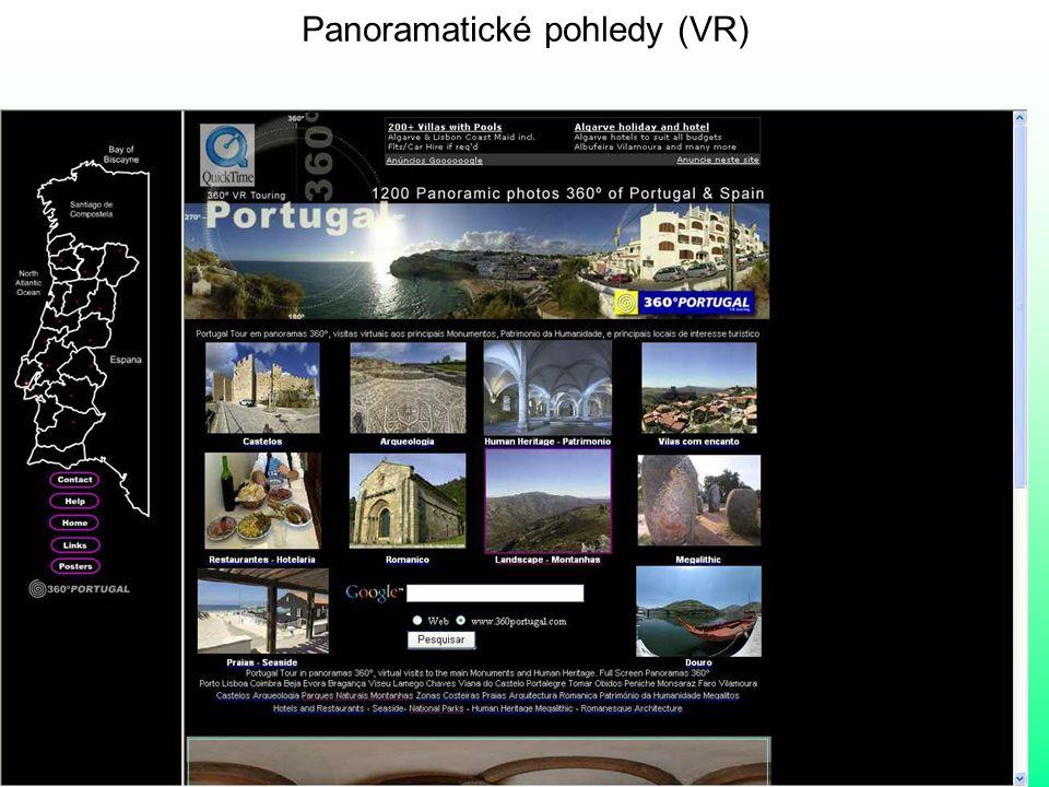 Panoramatické pohledy (VR)
