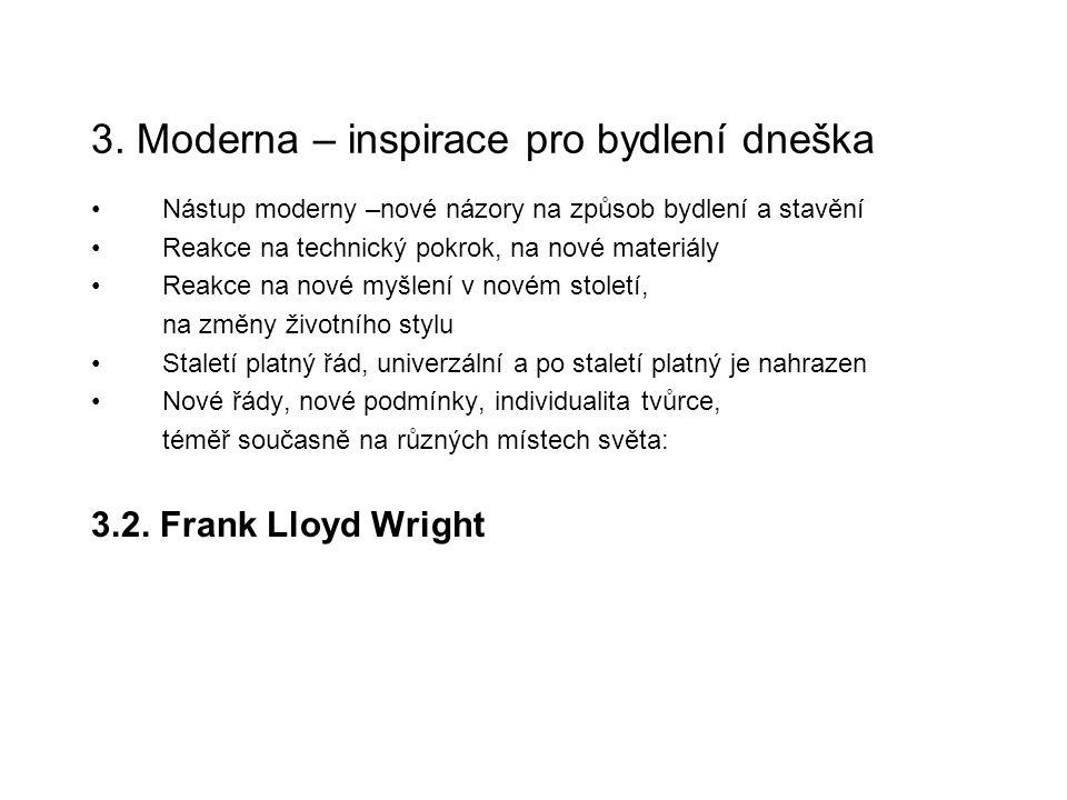 3. Moderna – inspirace pro bydlení dneška