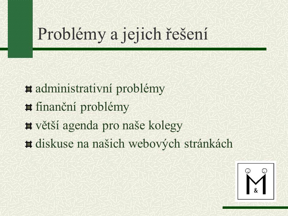 Problémy a jejich řešení