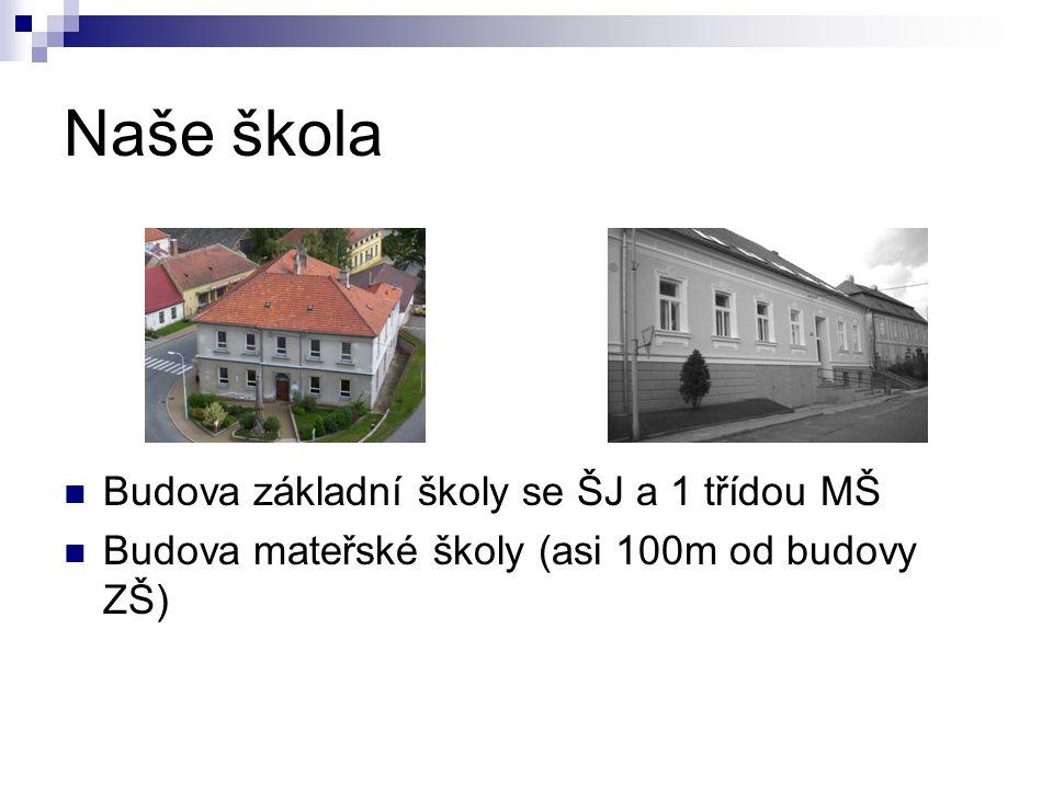 Naše škola Budova základní školy se ŠJ a 1 třídou MŠ