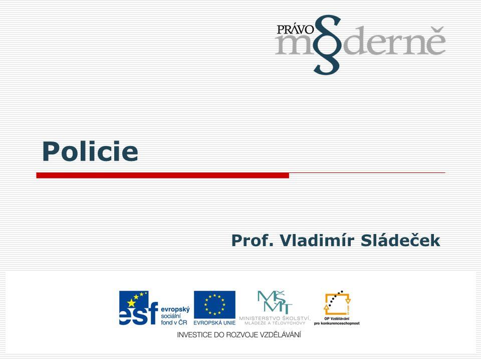 Prof. Vladimír Sládeček