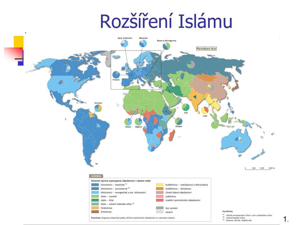 Rozšíření Islámu 1. 1.