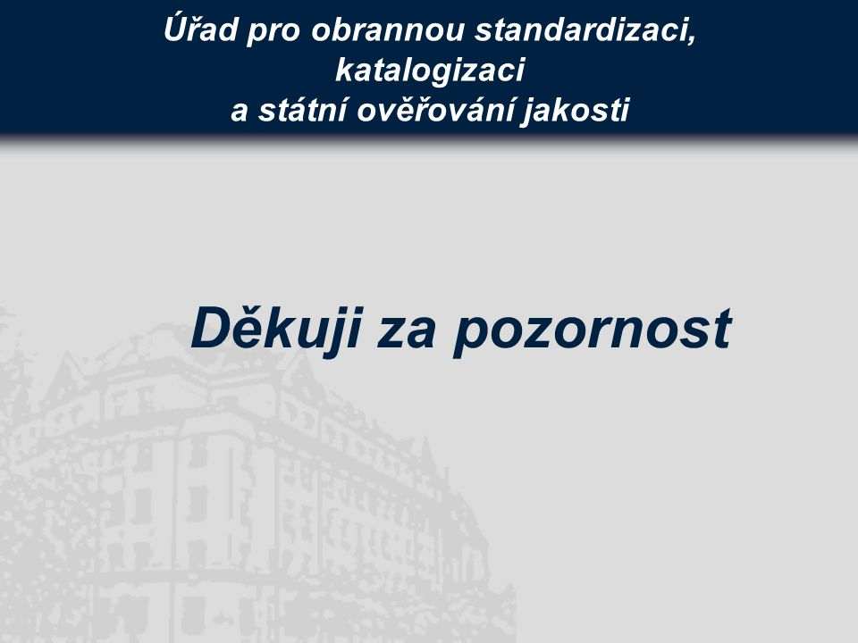 Úřad pro obrannou standardizaci, katalogizaci a státní ověřování jakosti