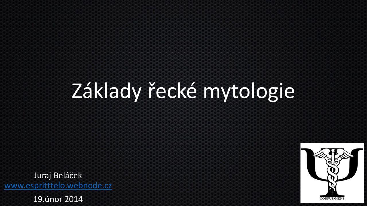 Základy řecké mytologie