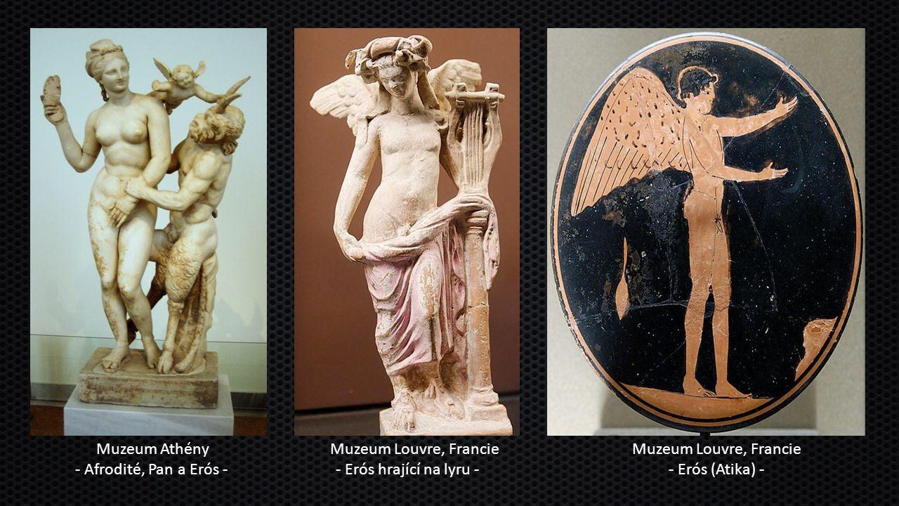 Muzeum Athény - Afrodité, Pan a Erós -