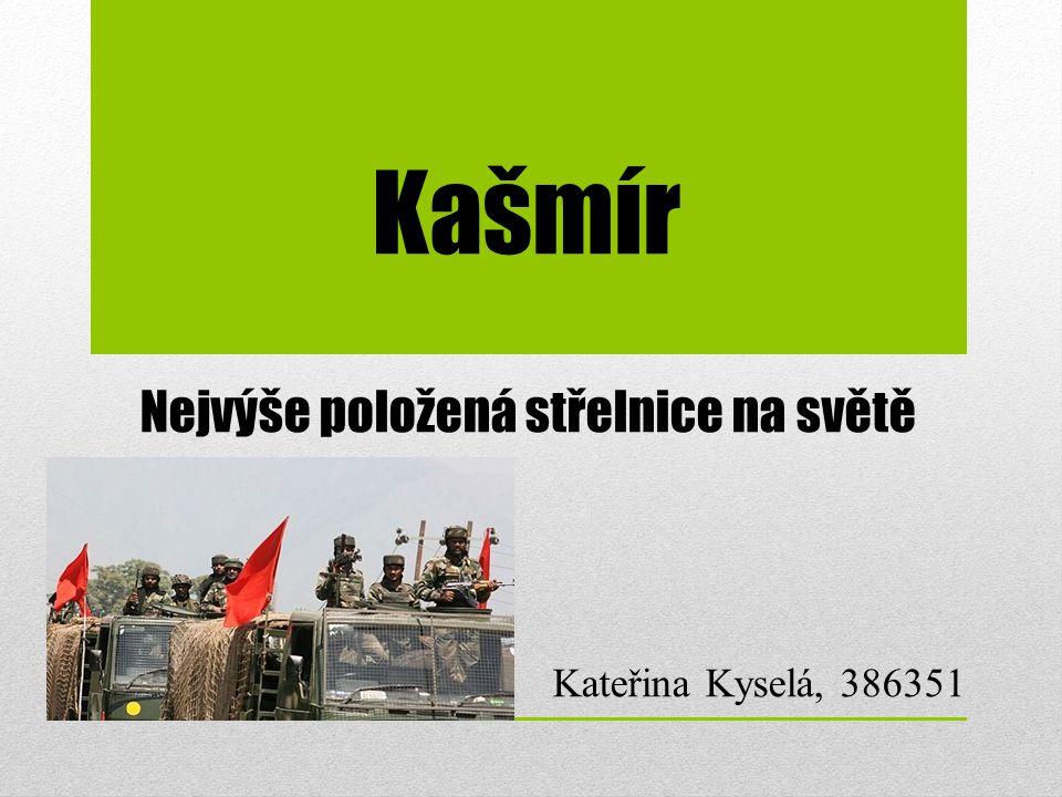 Nejvýše položená střelnice na světě Kateřina Kyselá, 386351