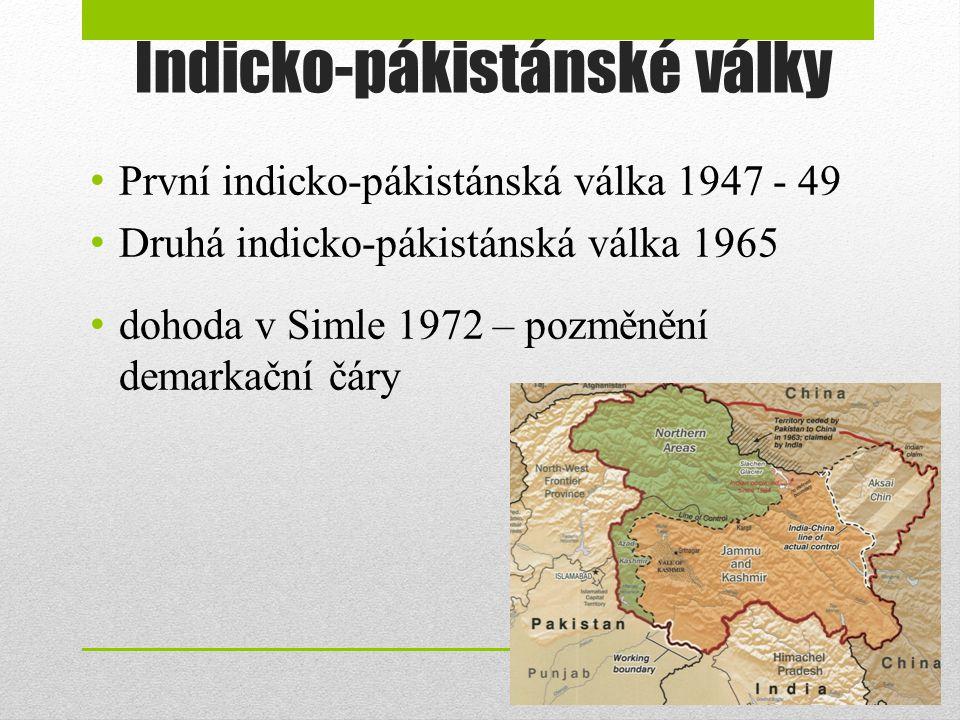 Indicko-pákistánské války