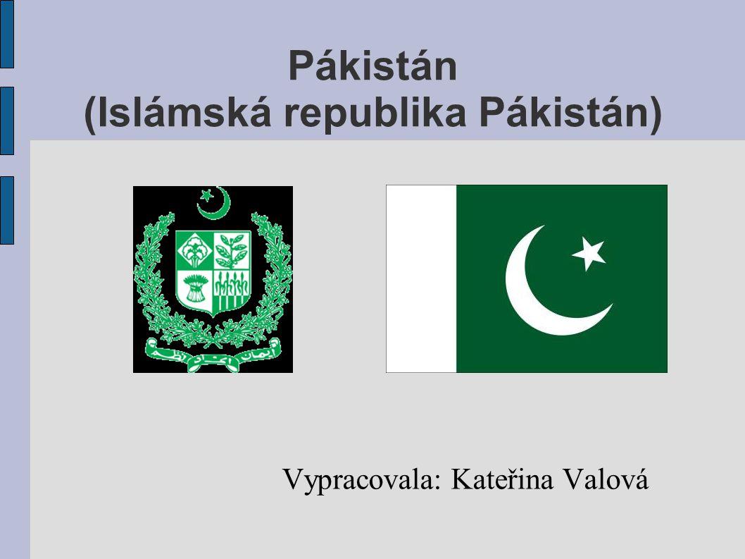 Pákistán (Islámská republika Pákistán)