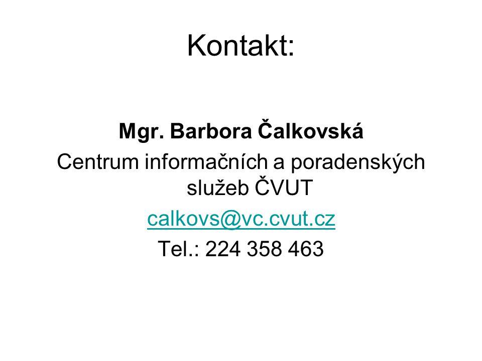 Centrum informačních a poradenských služeb ČVUT