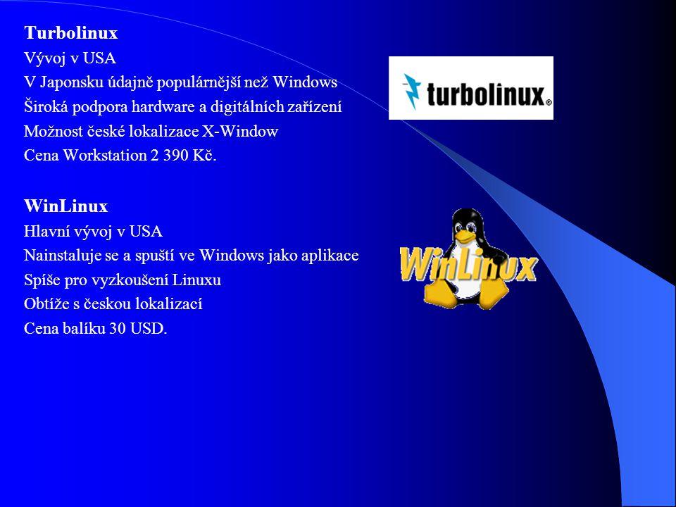 Turbolinux WinLinux Vývoj v USA