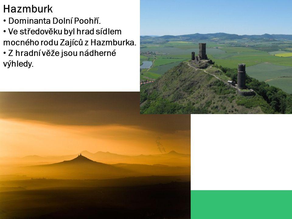 Hazmburk Dominanta Dolní Poohří.