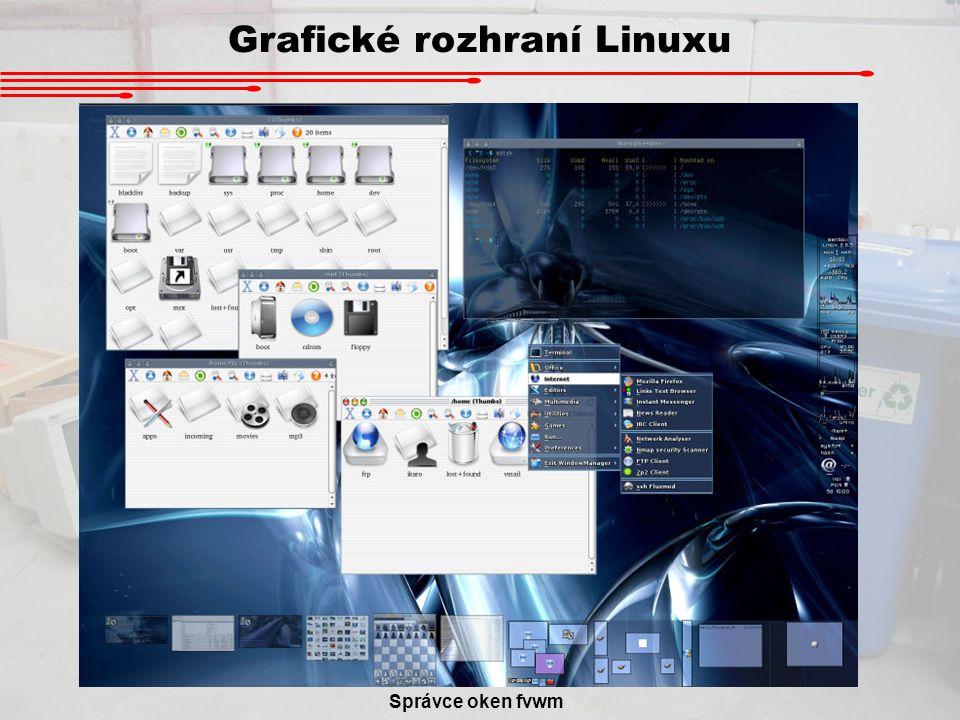 Grafické rozhraní Linuxu