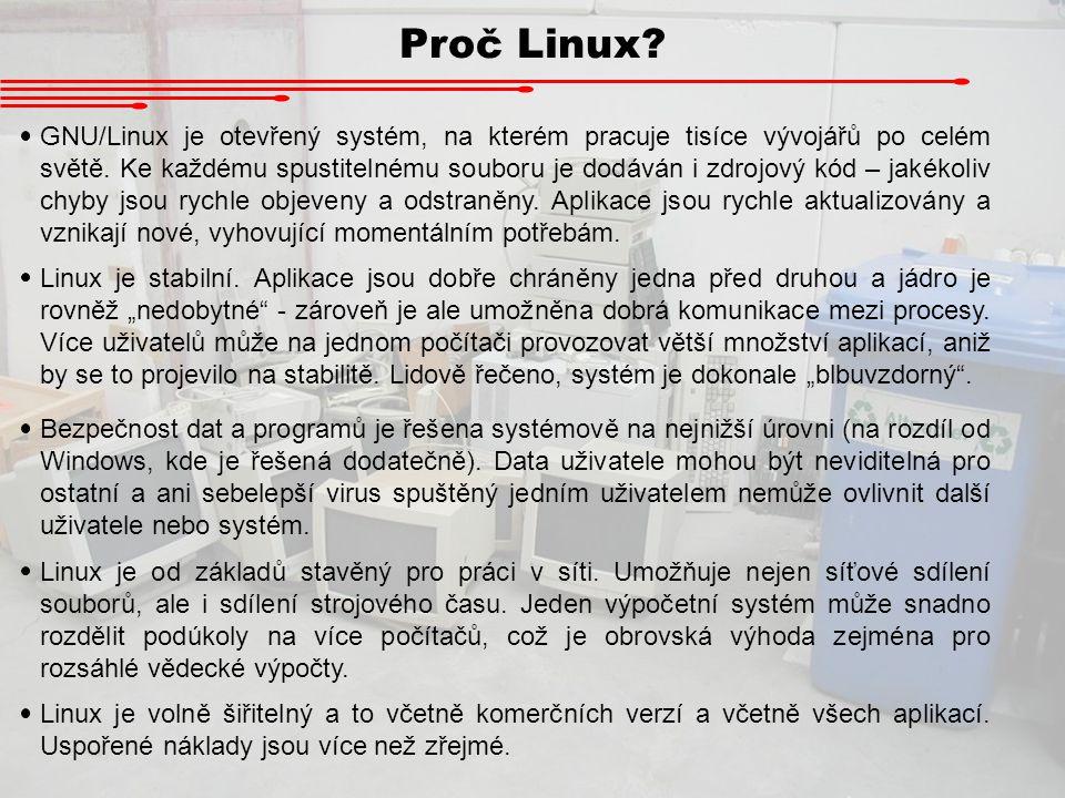 Proč Linux