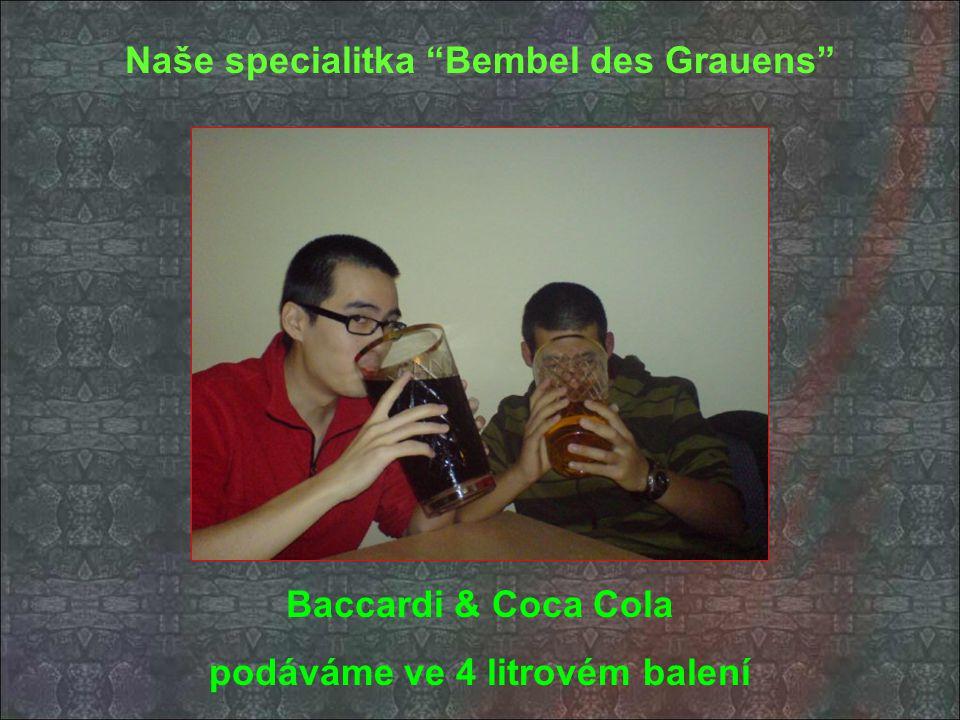 Naše specialitka Bembel des Grauens podáváme ve 4 litrovém balení