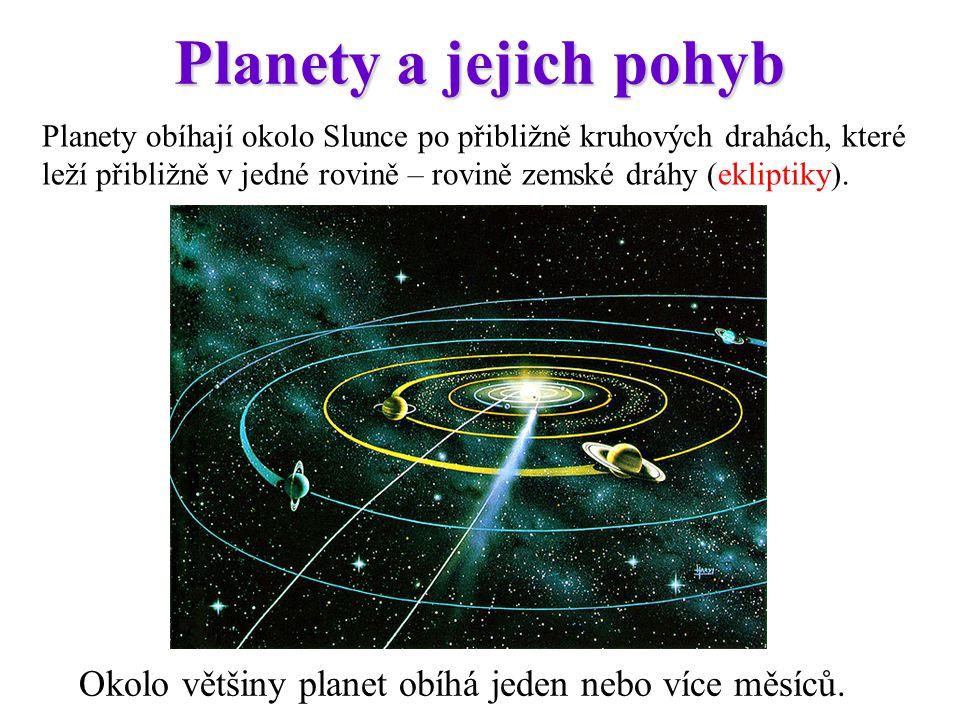 Planety a jejich pohyb