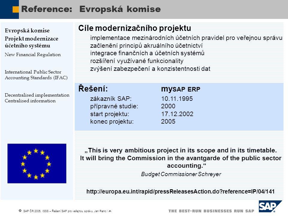 Reference: Evropská komise