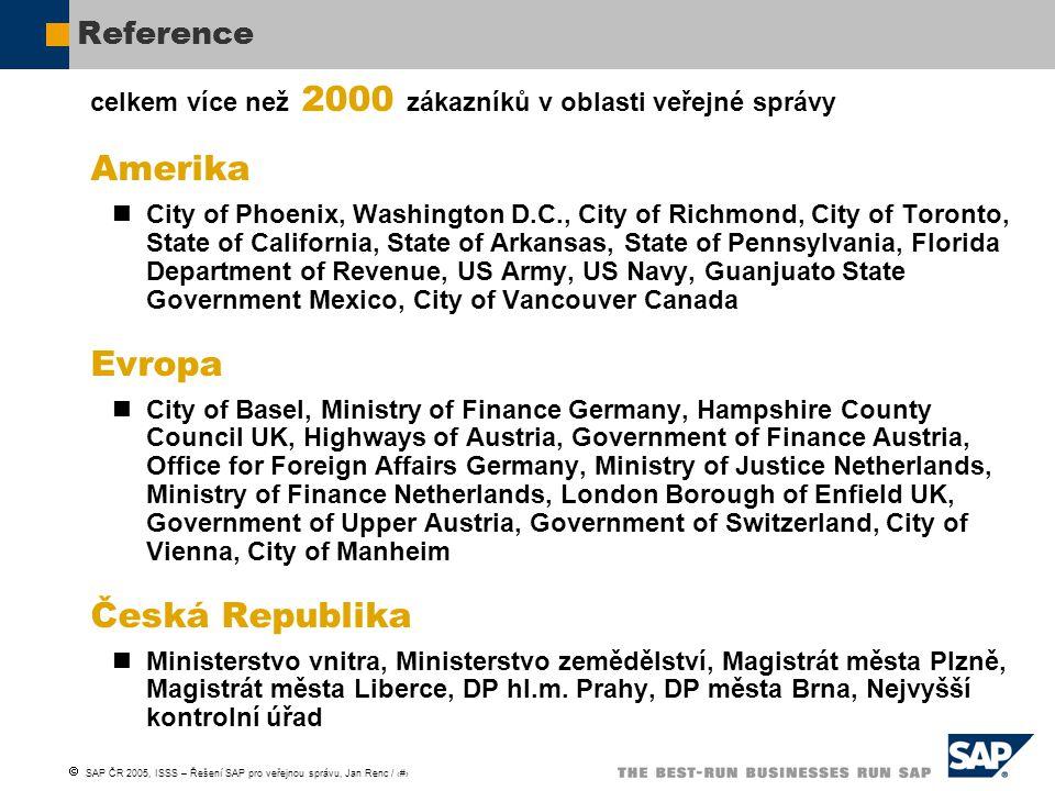 Amerika Evropa Česká Republika Reference