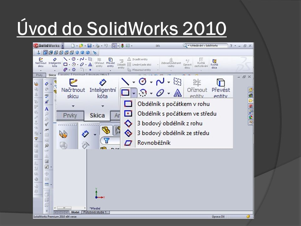 Úvod do SolidWorks 2010