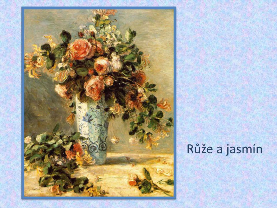 Růže a jasmín