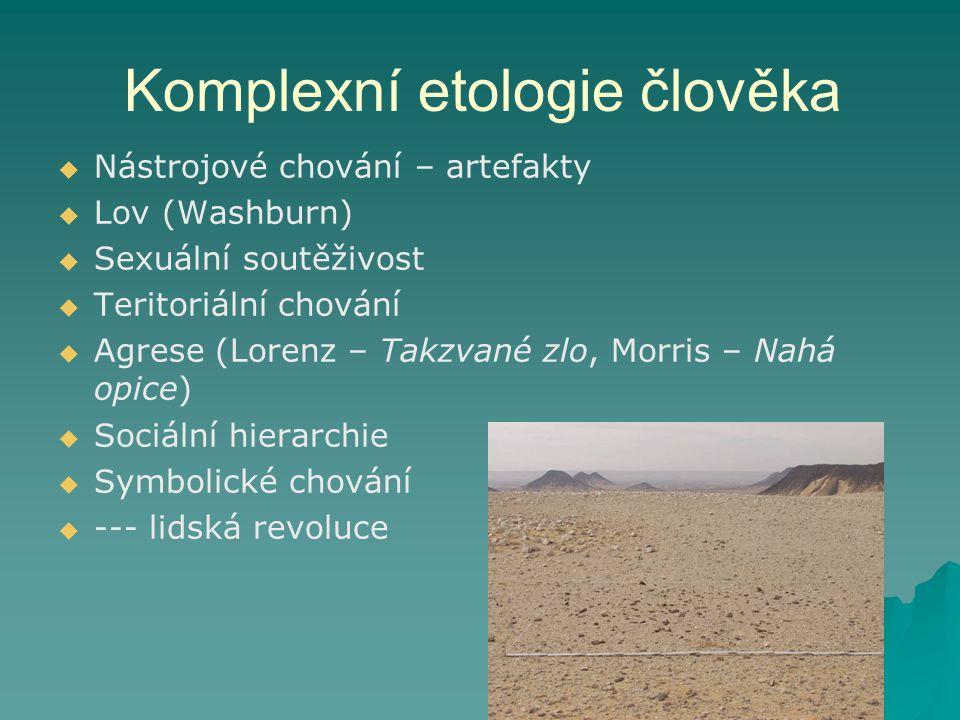 Komplexní etologie člověka