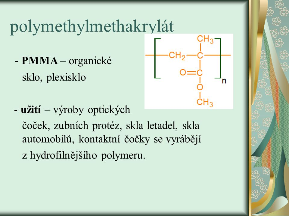 polymethylmethakrylát