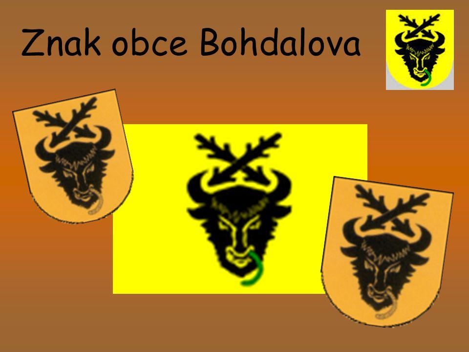 Znak obce Bohdalova