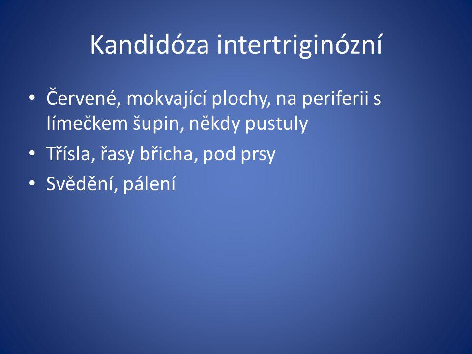 Kandidóza intertriginózní