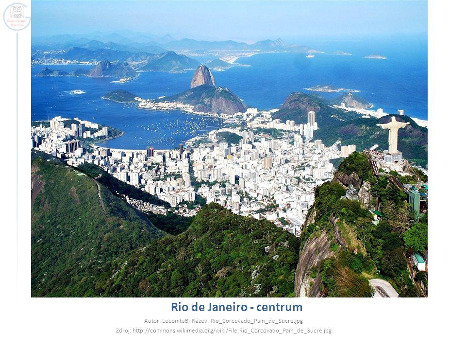 Rio de Janeiro - centrum