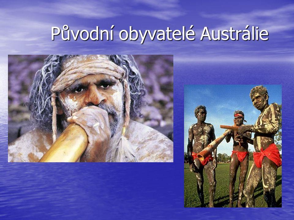 Původní obyvatelé Austrálie